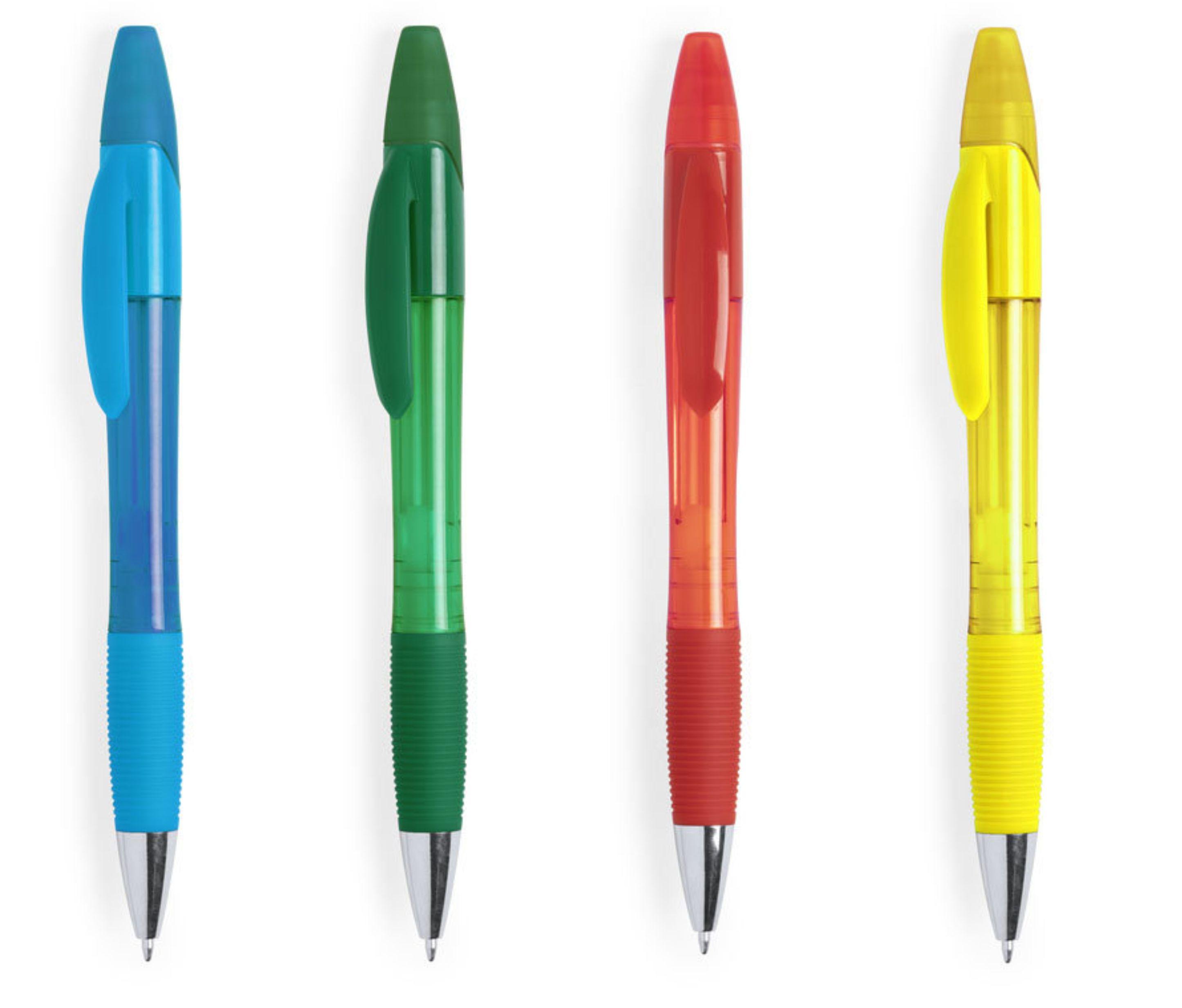 ручки с текстовыделителем
