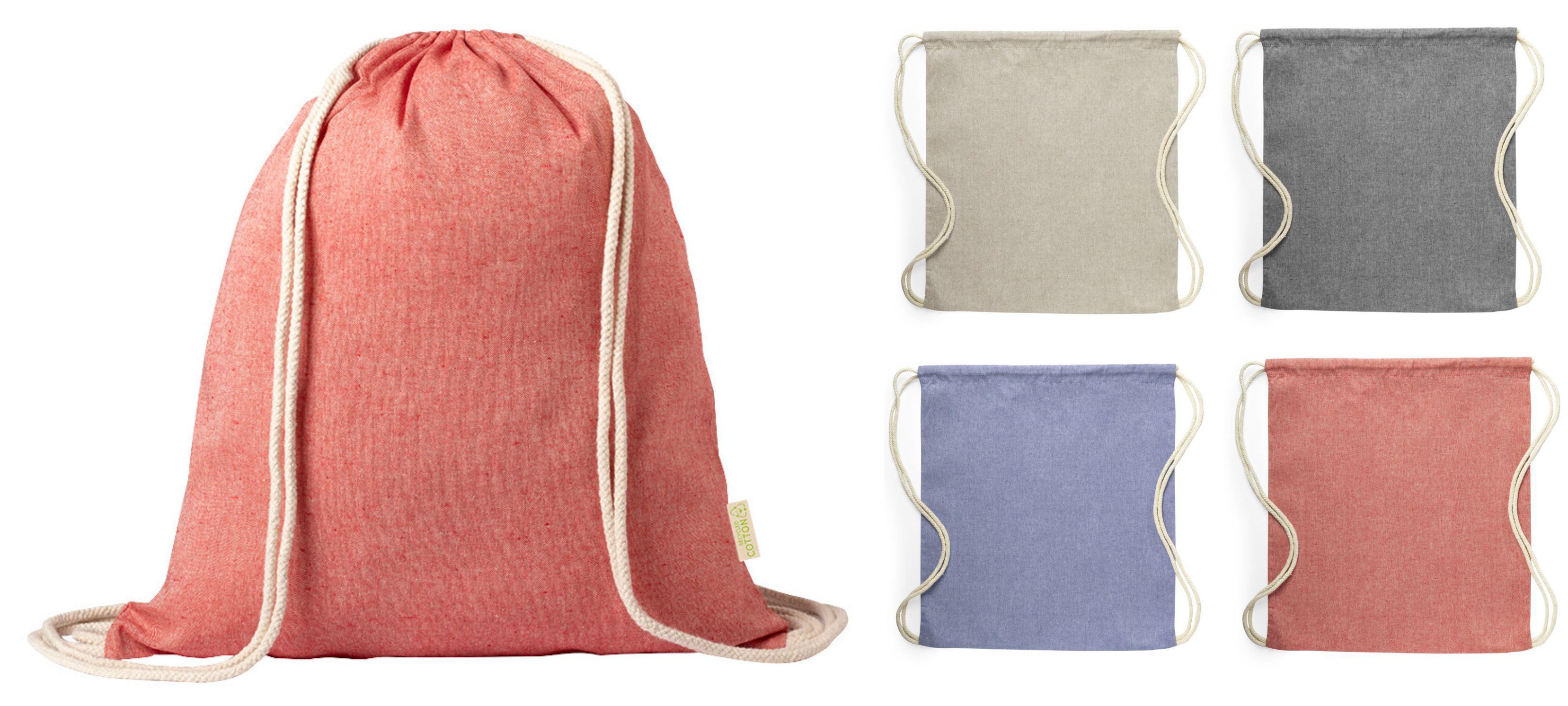 рюкзаки из переработанного хлопка