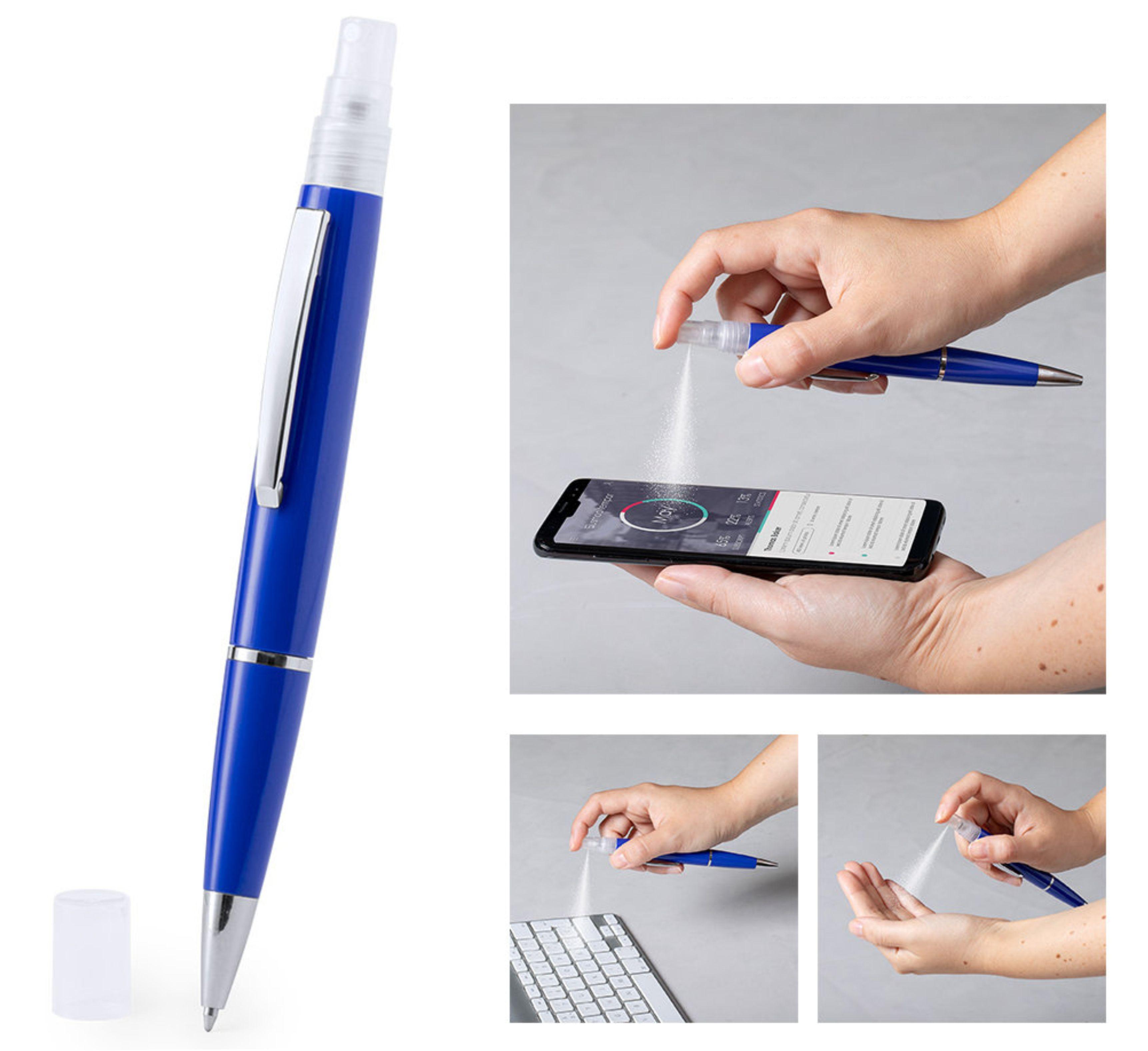 ручка со спреем