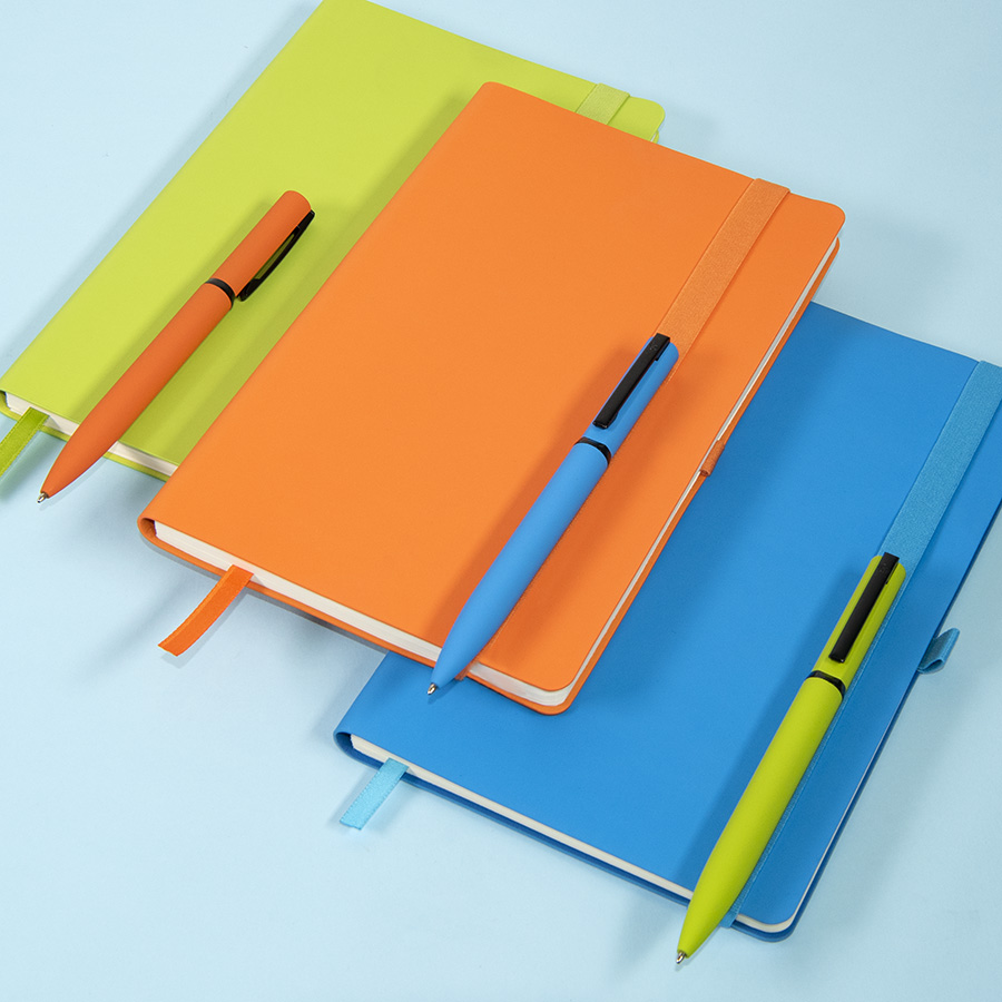 бизнес блокноты с soft touch покрытием