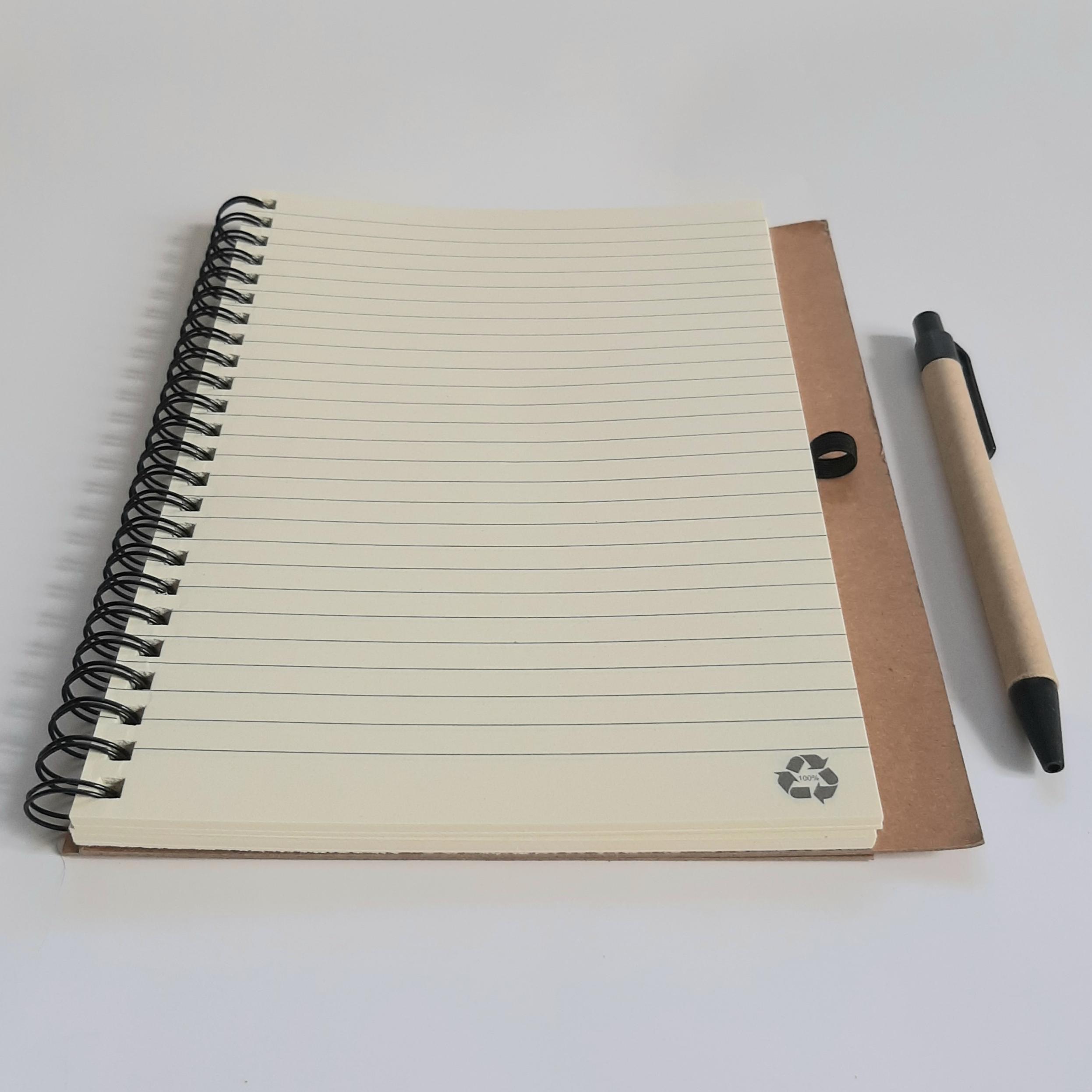 эко блокноты с ручкой