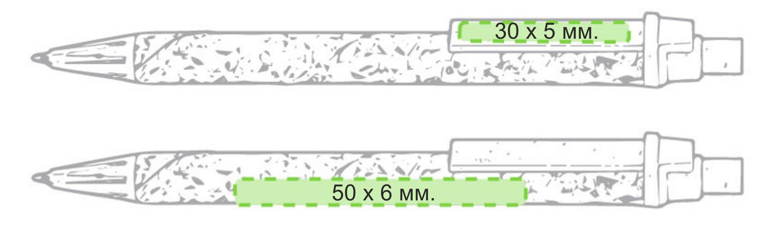 ручки из пробки с логотипом