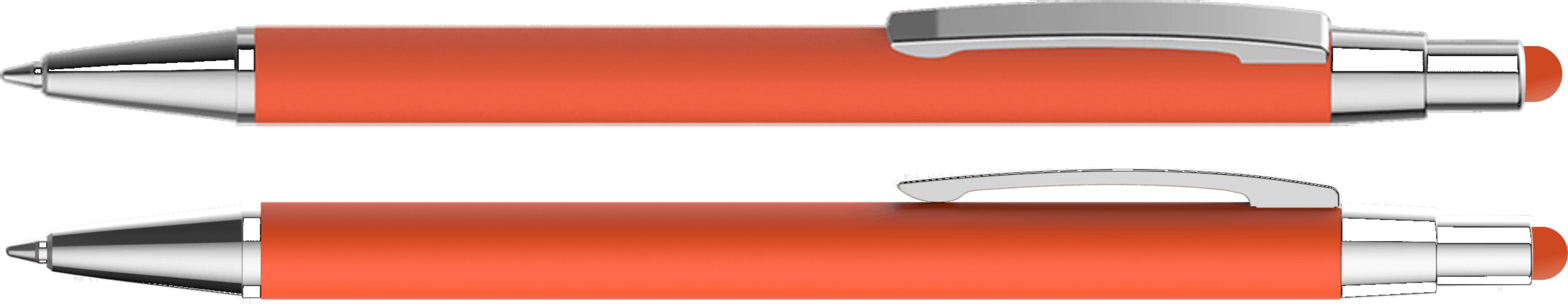 ручки с soft touch покрытием со стилусом