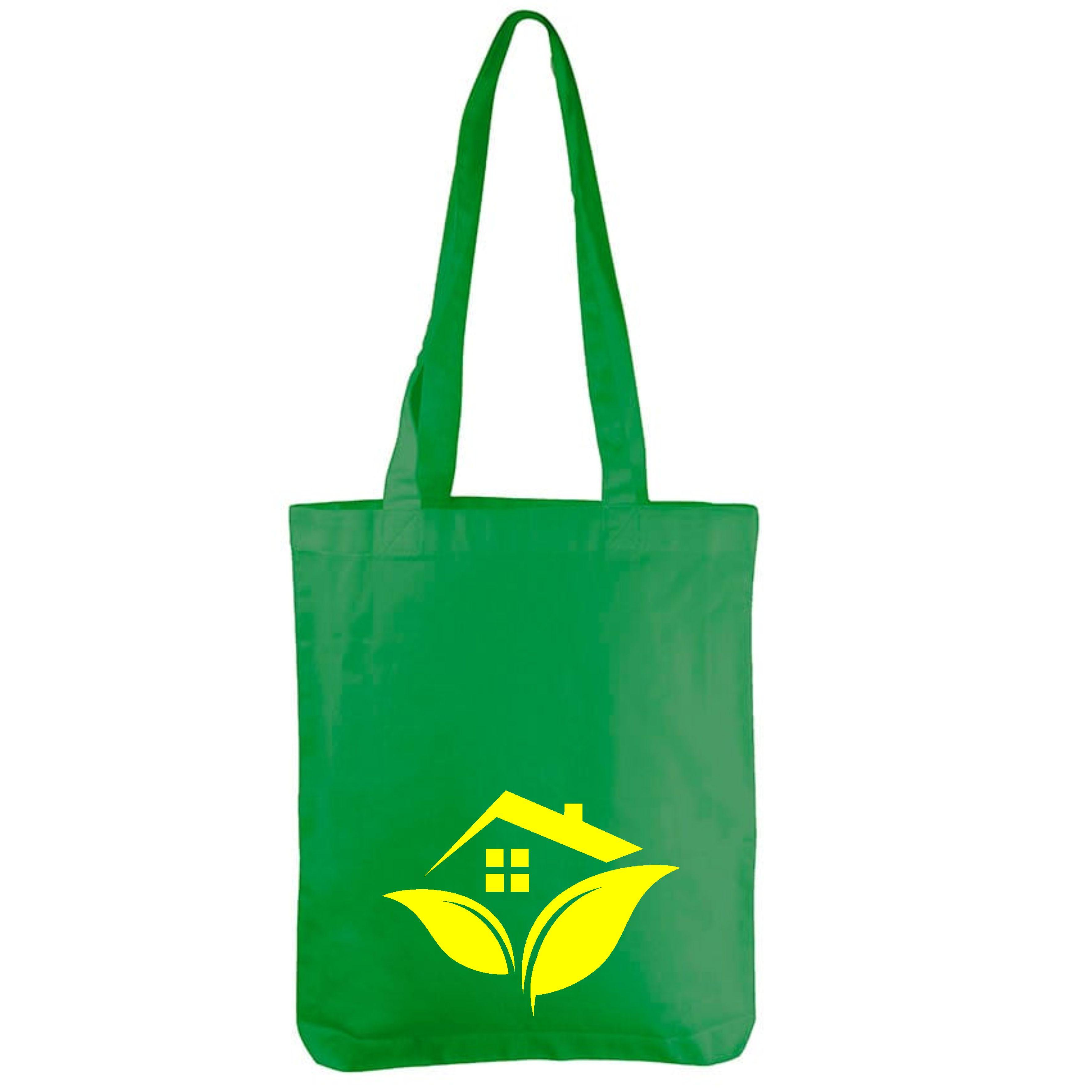 хлопковые сумки с логотипом