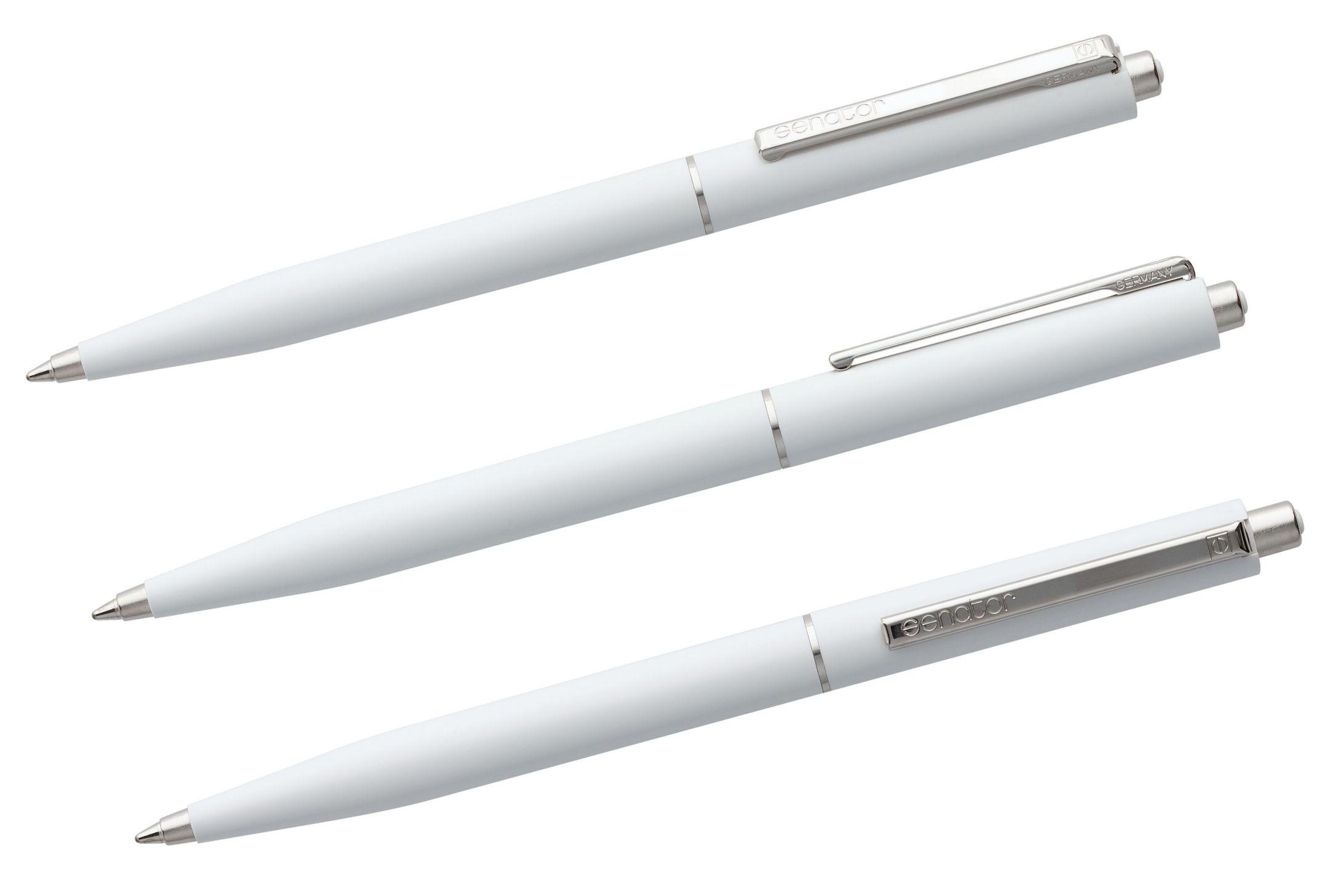 белые ручки Senator Point