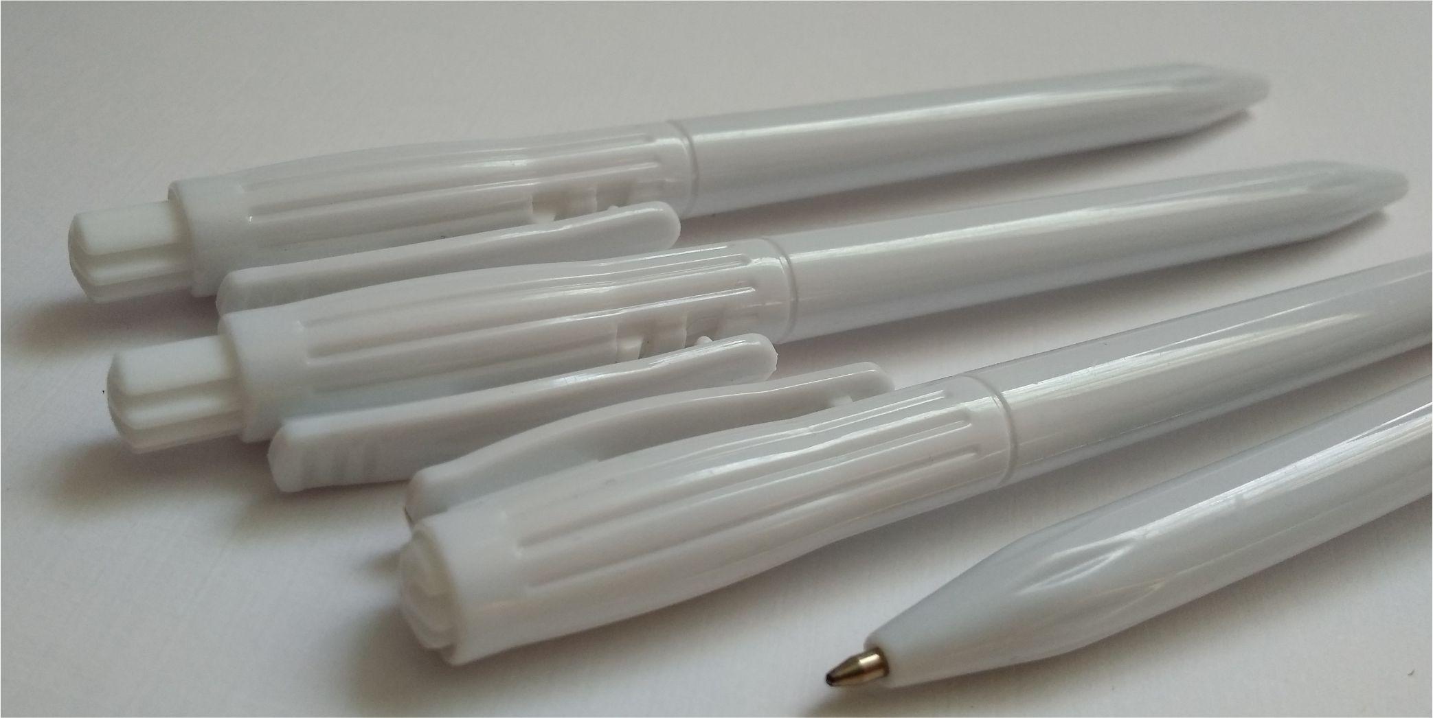 белые ручки под нанесение