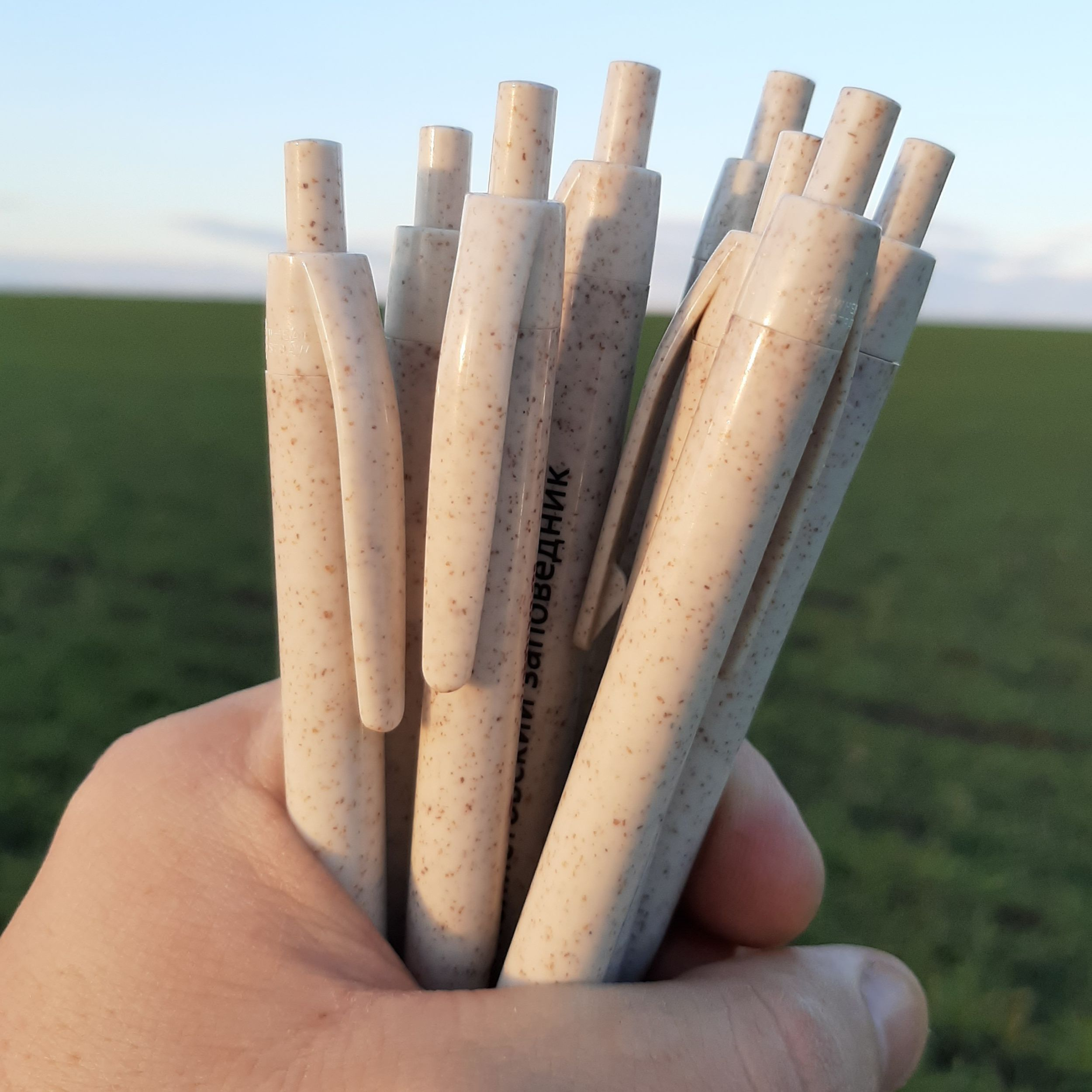 ручки из зерноволокна