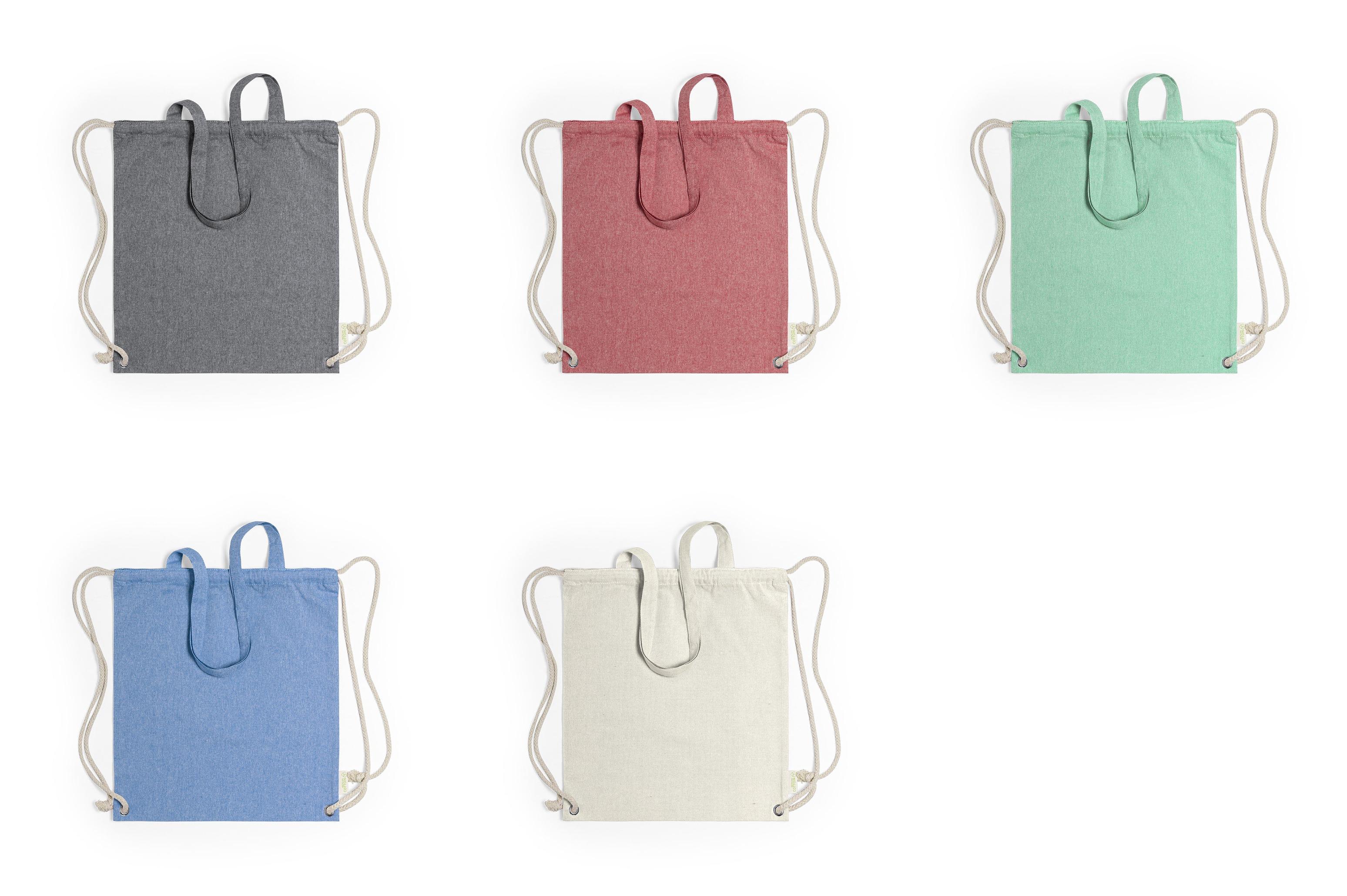 сумки из переработанного хлопка